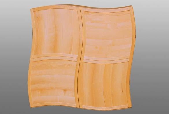 Wäscheschrank aus Esche