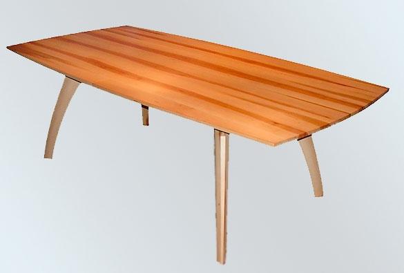 Auszugstisch aus Elsbeerholz
