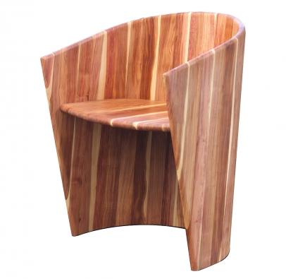 Sessel aus Zwetschgenholz