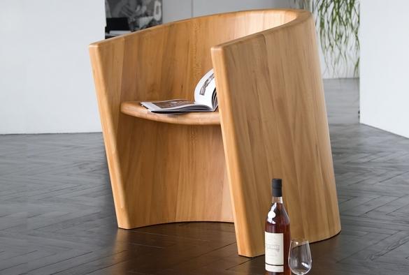 Sessel ARROUX aus Platane    Modell geschützt