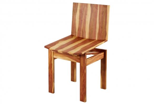 Federstuhl aus Zwetschgenholz